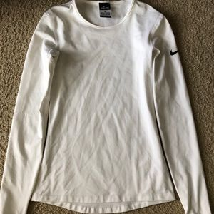 Nike Dri-Fit Women's Long Sleeve White